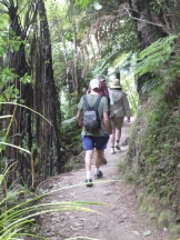 A fine day of tramping with our new friends along the Abel Tasman Coast Track
