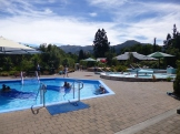 While there was no heart-shaped pool, we did enjoy the variety of hot springs at the Hanmer Springs resort on Valentine's Day