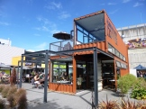 Innovative use of shipping containers to jump-start rebuilding in downtown Christchurch