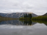 I think this is Lake Pearson, along the road through Arthur's Pass. There are alot of lakes, so it's hard keeping tabs on each of them