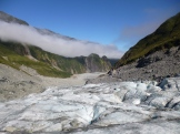 Since 2008, Fox Glacier has retreated signifcantly. Prior to 2008, the glacier had been advancing