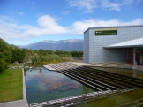The Department of Conservation Visitor Center in Haast. While we didn't have enough time to explore Haast, there appeared to be less crowded walks and places to explore in the area