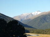 Cameron Flat was one of our favorite campsites. It's near Haast Pass on the road to Wanaka