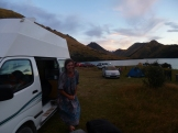 We really enjoyed the atmosphere and beauty at the Moke Lake Campground, a Department of Conservation site, about 20 minutes from Queenstown