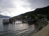 The waterfront along Lake Wakatipu in Queenstown