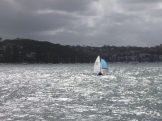 My final weekend in Sydney was bit unsettled, good for an afternoon sail